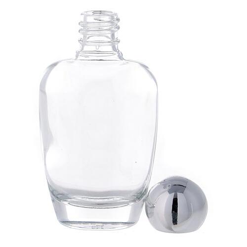 Flacon arrondi eau bénite verre 50 ml (50 pcs) 3