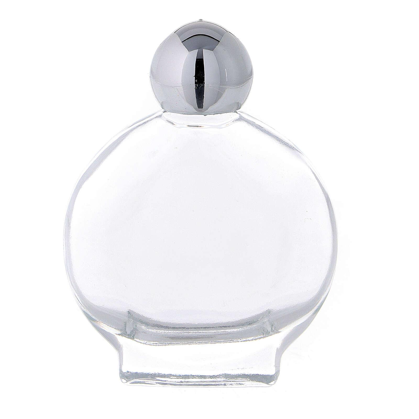 Botella 15 ml para agua bendita vidrio (CAJA 50 PIEZAS) 3
