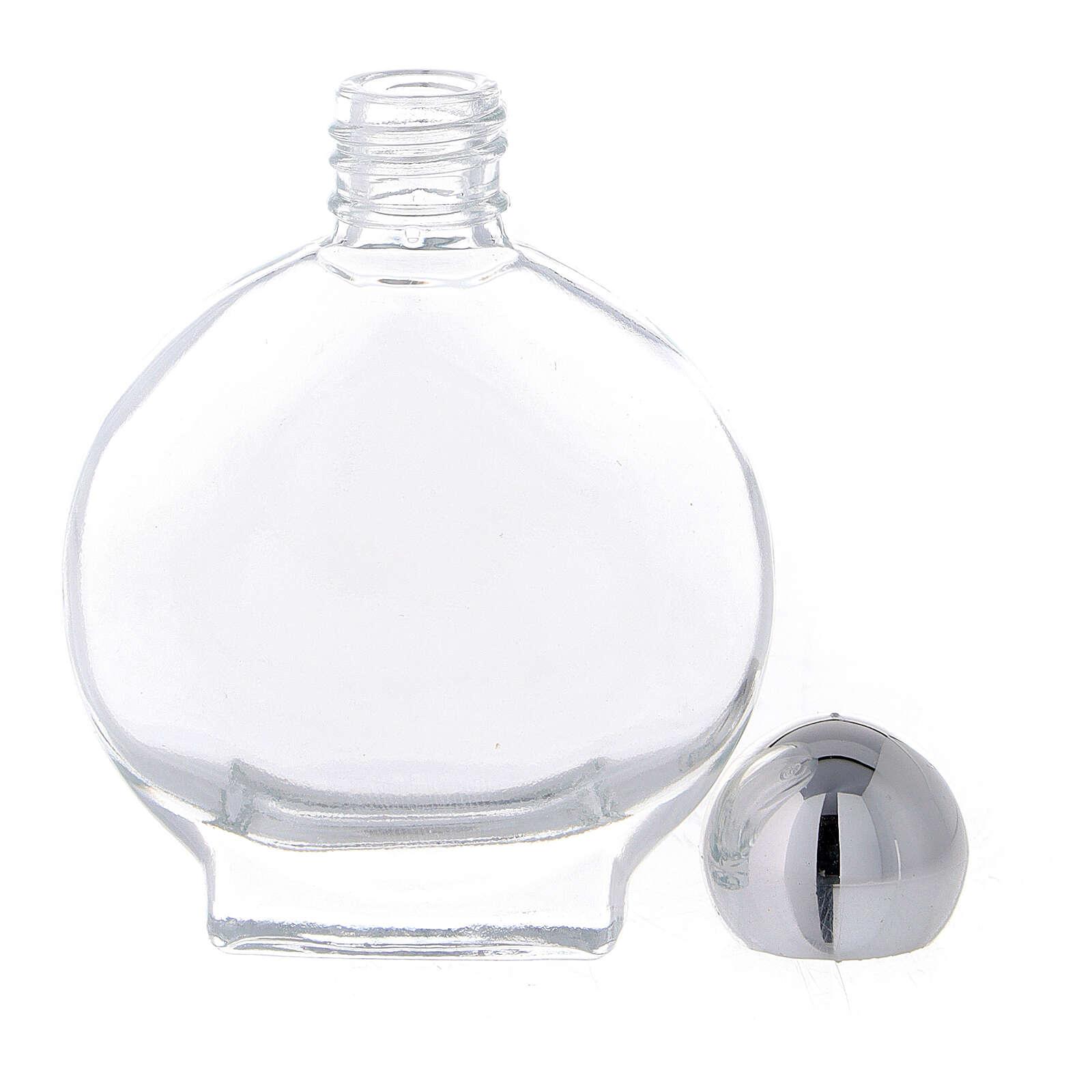 Flacon rond 15 ml pour eau bénite verre (50 pcs) 3