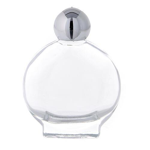 Flacon rond 15 ml pour eau bénite verre (50 pcs) 1