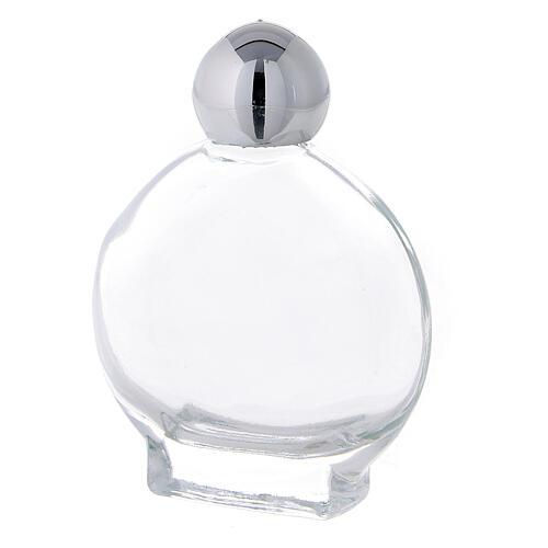 Flacon rond 15 ml pour eau bénite verre (50 pcs) 2