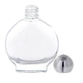 15 ml Holy water bottle in glass (50 pcs pk) s3