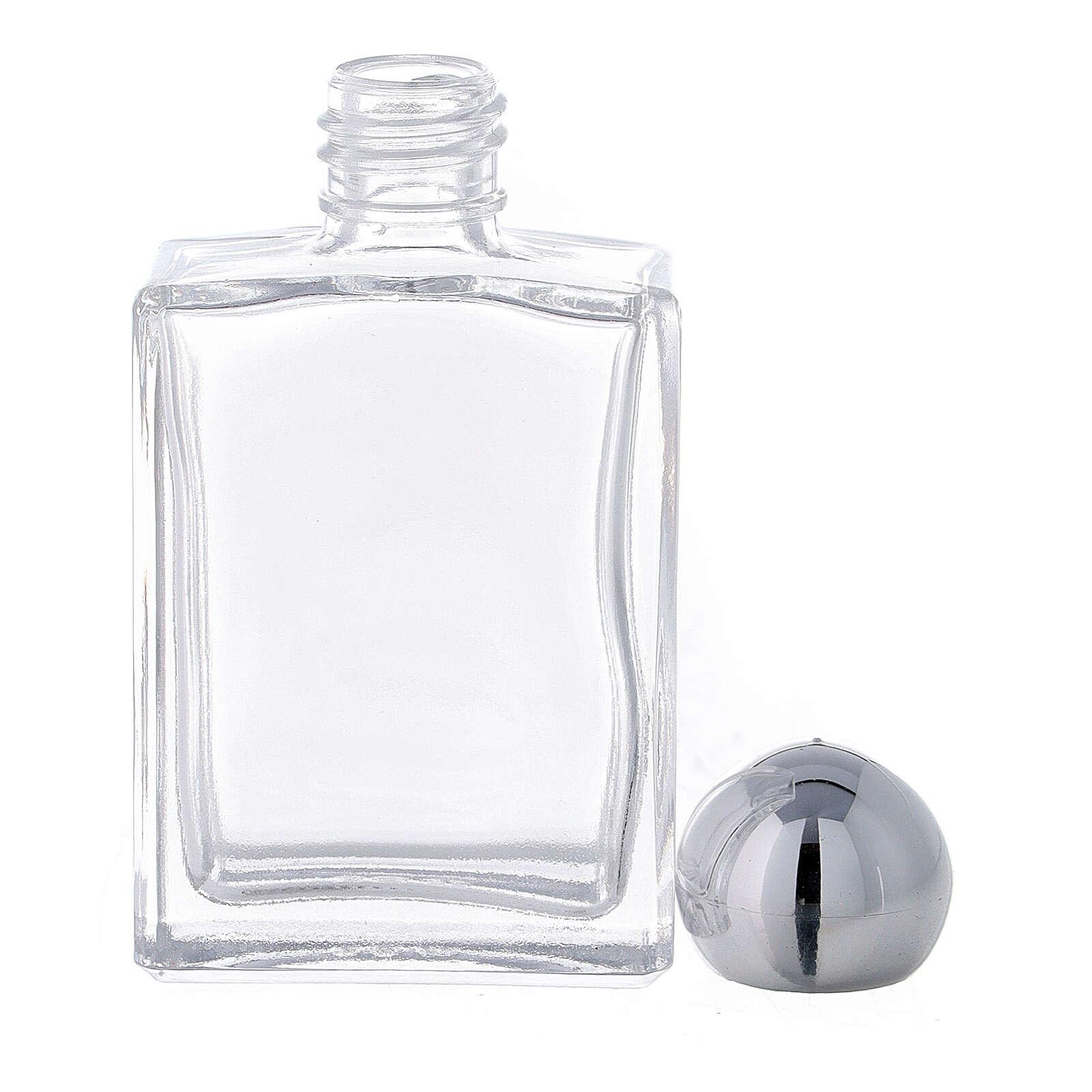 Flacon carré pour eau bénite 15 ml verre (50 pcs) 3