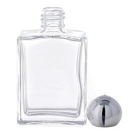 Flacon carré pour eau bénite 15 ml verre (50 pcs) s3