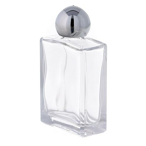 Flacon carré pour eau bénite 15 ml verre (50 pcs) 2