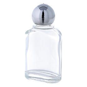 Holy water bottle with 10 ml (50-PIECE PACK) in glass s2
