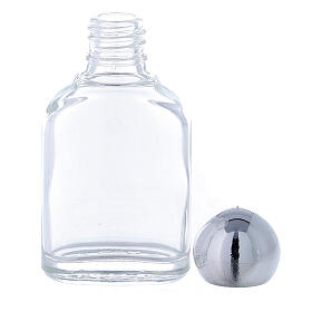 Holy water bottle with 10 ml (50-PIECE PACK) in glass s3