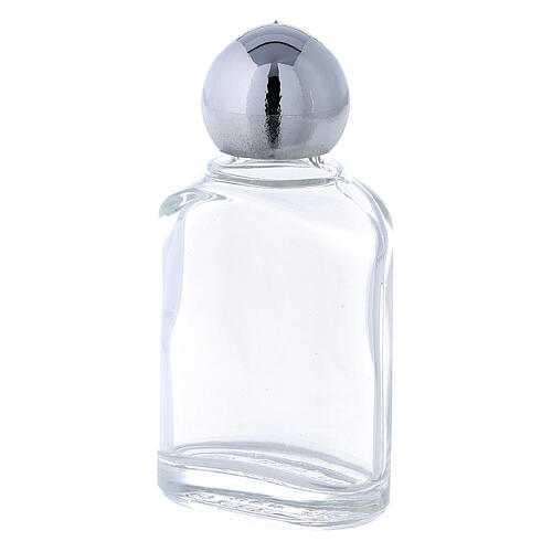 Holy water bottle with 10 ml (50-PIECE PACK) in glass 2