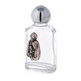 Holy water bottle with Holy Family, 10 ml (50 pcs) in glass s2