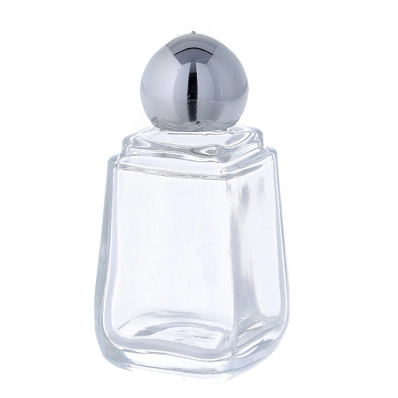Glass holy water bottle, 15 ml (50 piece pk) 3