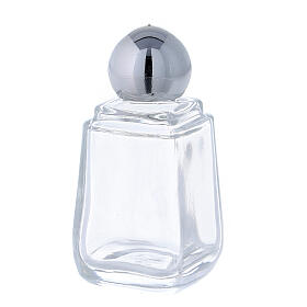 Glass holy water bottle, 15 ml (50 piece pk) s2