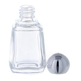 Glass holy water bottle, 15 ml (50 piece pk) s3