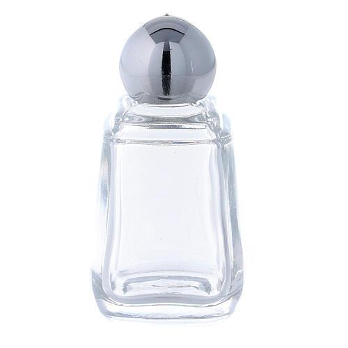 Glass holy water bottle, 15 ml (50 piece pk) 1