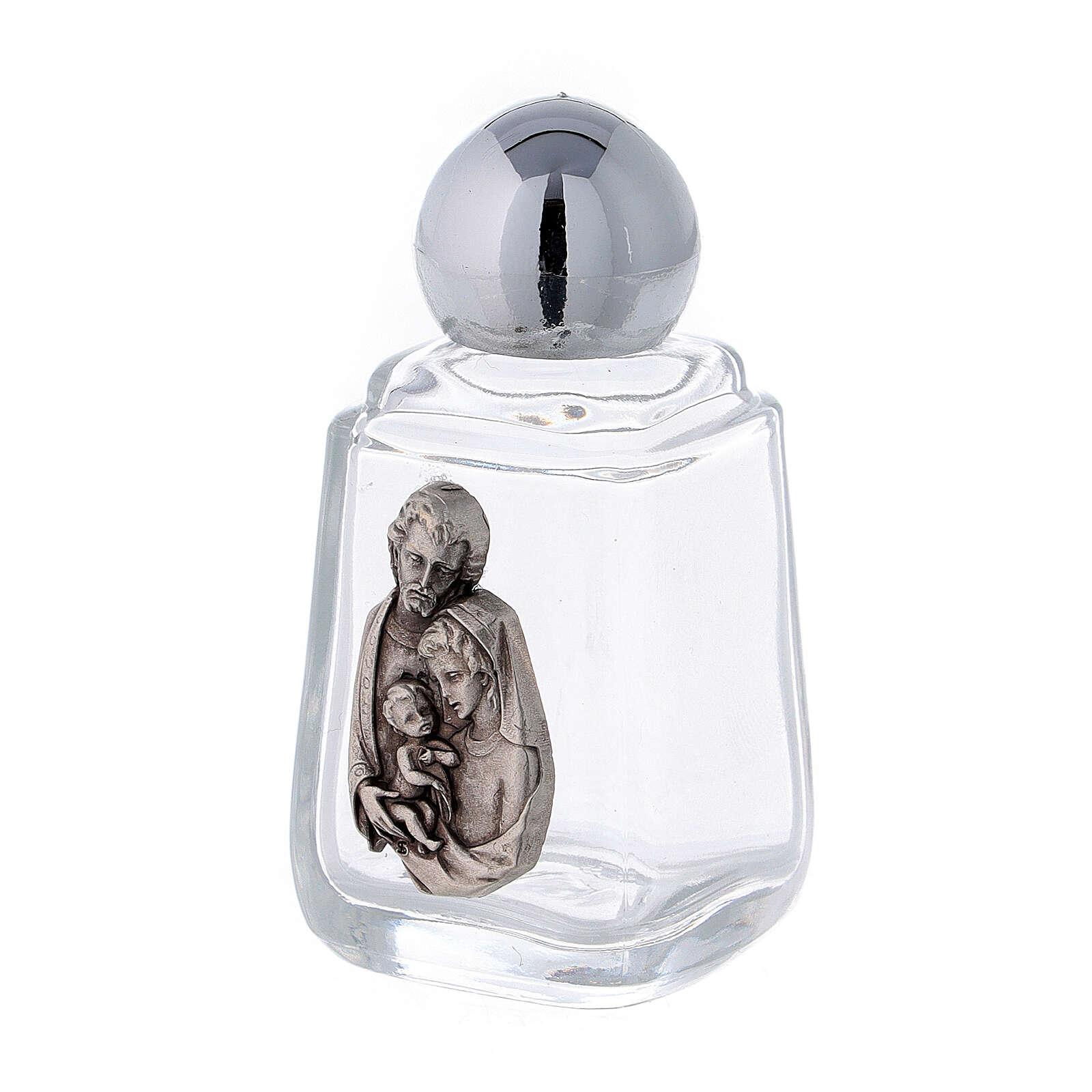 Botella agua bendita Sagrada Familia 15 ml (50 PIEZAS) vidrio 3