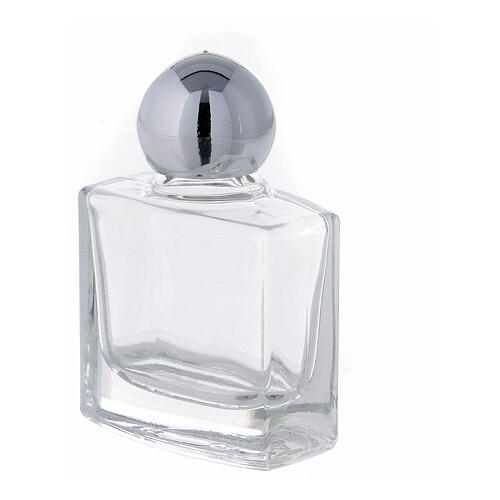 Flacon carré eau bénite verre 10 ml 50 pcs 2