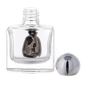 Flacon carré eau bénite Sainte Famille 10 ml verre 50 pcs s3
