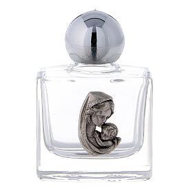 Botella agua bendita Virgen y Niño 10 ml (50 PIEZAS) vidrio s1