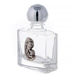 Bottiglietta acquasanta Madonna e Bambino 10 ml (50 PZ.) vetro s2