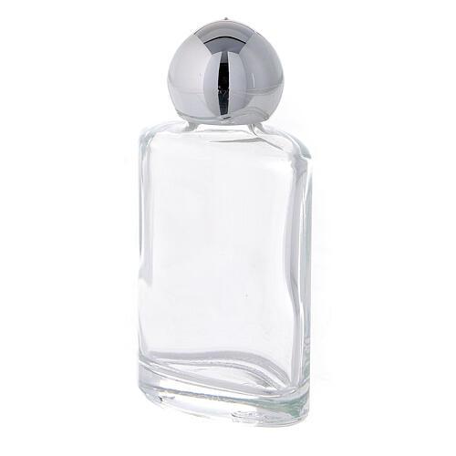 Bouteille eau bénite carrée 15 ml verre 50 pcs 2