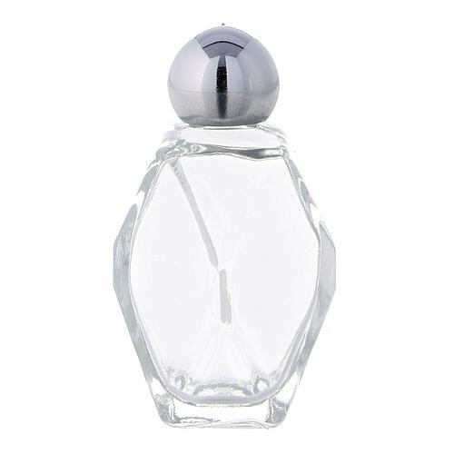 Botella para agua bendita vidrio 15 ml (CAJA 50 PIEZAS) 1