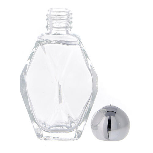 Holy water bottle 15 ml, in glass (50 PIECE PACK) 3