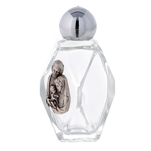 15 ml Holy water bottle Sacred Family, in glass (50 PIECE PACK) 2