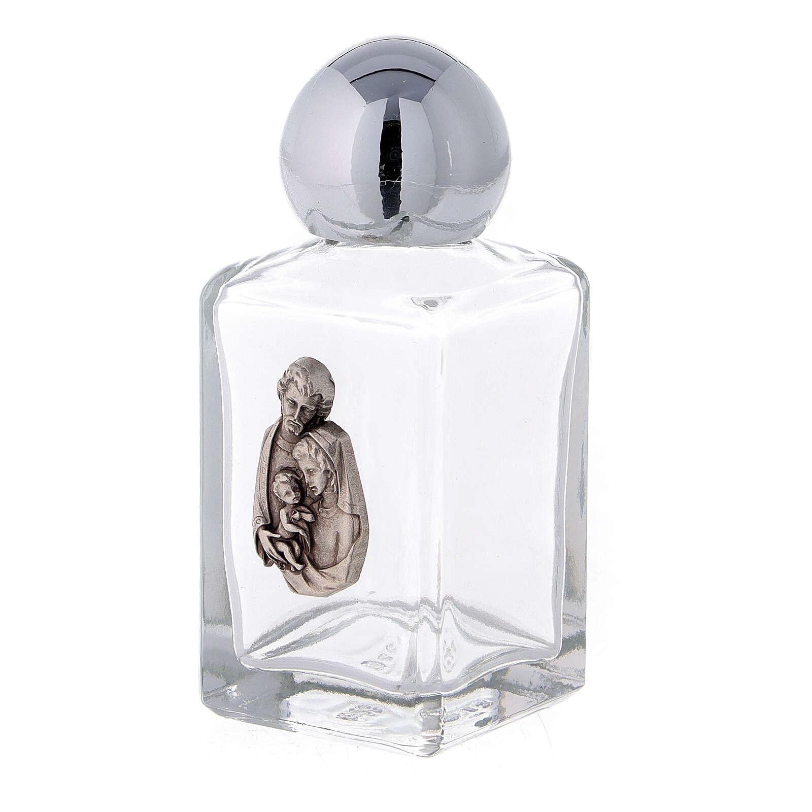 Bottiglietta acquasanta 35 ml Sacra Famiglia (CONF.50 PZ.) vetro 3