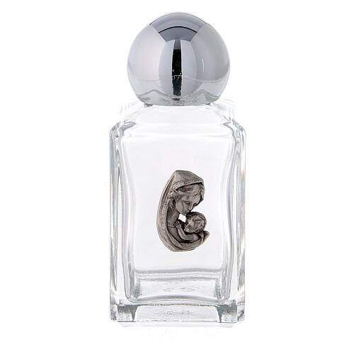 Botella agua bendita 35 ml Virgen y Niño (50 PIEZAS) vidrio 1