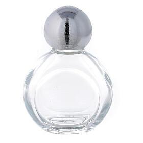Bouteille ronde eau bénite 35 ml verre 50 pcs s1