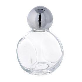 Bouteille ronde eau bénite 35 ml verre 50 pcs s2