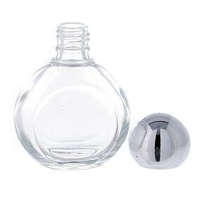 Bouteille ronde eau bénite 35 ml verre 50 pcs s3