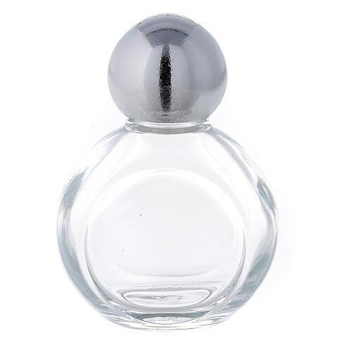 Bouteille ronde eau bénite 35 ml verre 50 pcs 1