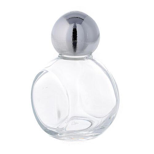Bouteille ronde eau bénite 35 ml verre 50 pcs 2