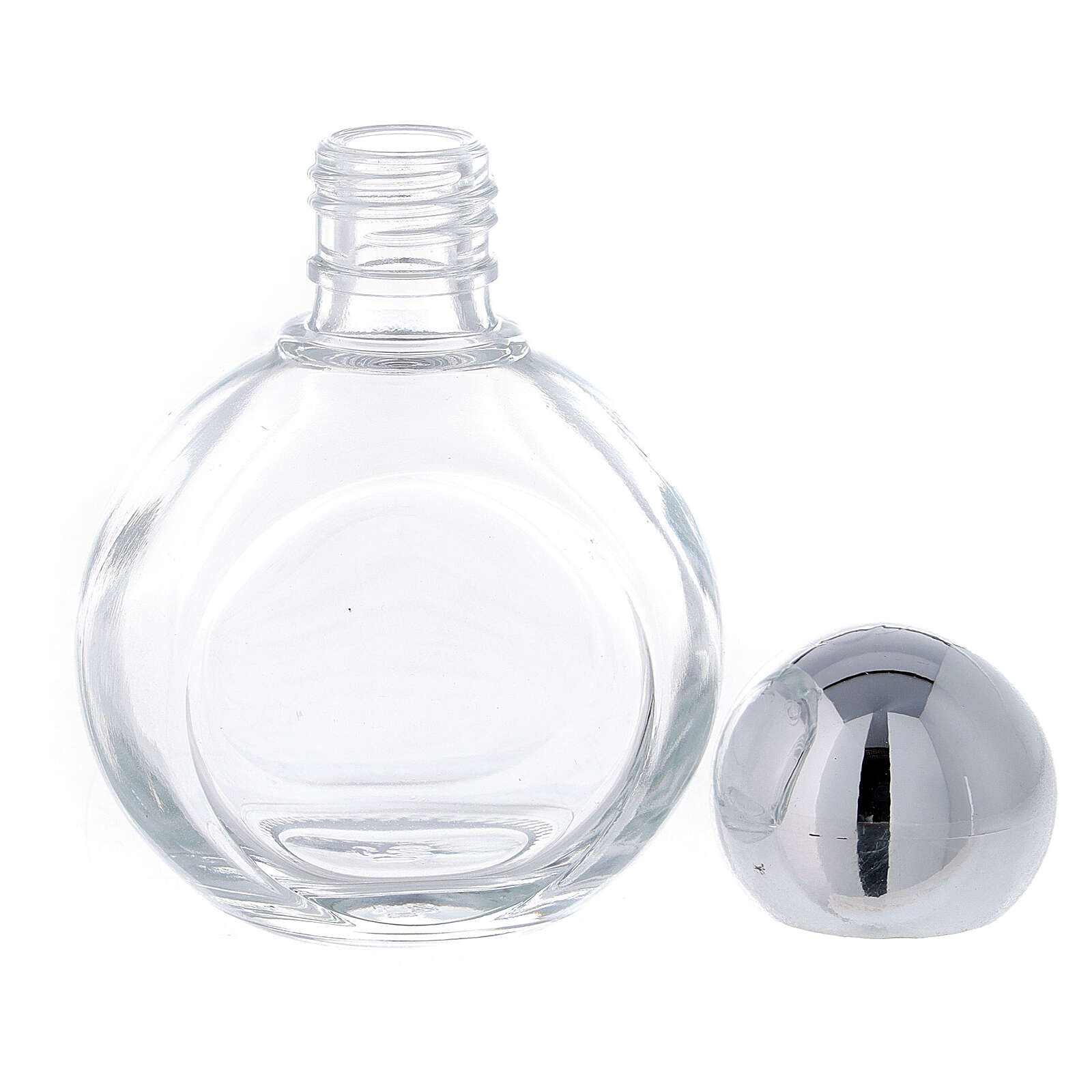 Round holy water bottle 35ml, glass (50 pcs PACK) 3