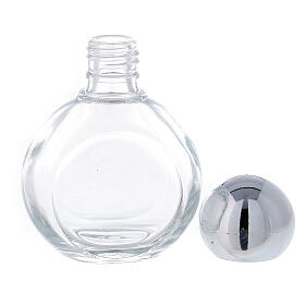 Round holy water bottle 35ml, glass (50 pcs PACK) s3