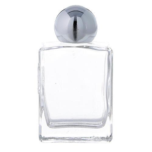Bouteille rectangulaire eau bénite 35 ml verre 50 pcs 1