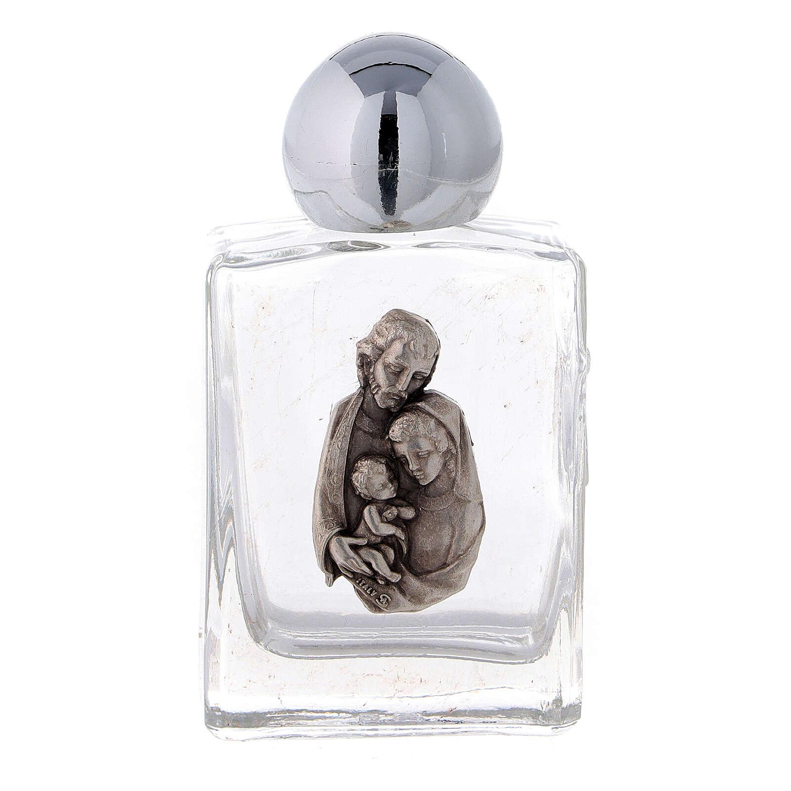Botella agua bendita Sagrada Familia 35 ml (CAJA 50 PIEZAS) vidrio 3