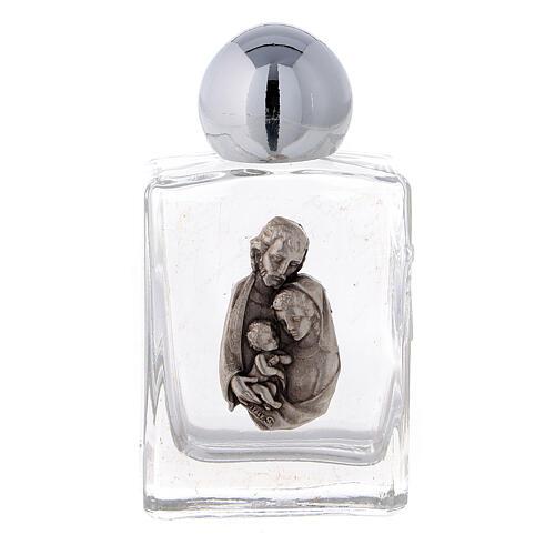 Botella agua bendita Sagrada Familia 35 ml (CAJA 50 PIEZAS) vidrio 1