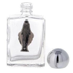 Bottiglietta acqua Benedetta 35 ml Immacolata (CONF. 50 PZ.) vetro s3