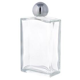 Bouteille rectangulaire pour eau bénite 100 ml verre 25 pcs s2