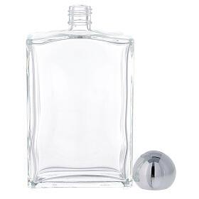 Bouteille rectangulaire pour eau bénite 100 ml verre 25 pcs s3