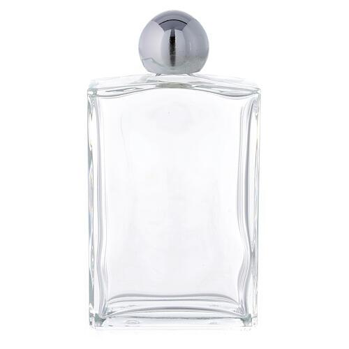 Bouteille rectangulaire pour eau bénite 100 ml verre 25 pcs 1