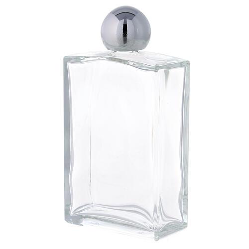 Bouteille rectangulaire pour eau bénite 100 ml verre 25 pcs 2