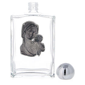 Butelka do wody święconej 100 ml Madonna i Dzieciątko (op. 25 szt.) szkło s3