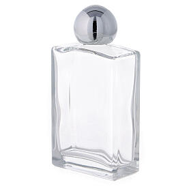 Holy water bottle with Merciful Jesus 100 ml in glass (25-PIECE box) s2