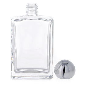 Holy water bottle with Merciful Jesus 100 ml in glass (25-PIECE box) s3