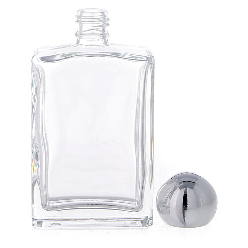 Holy water bottle with Merciful Jesus 100 ml in glass (25-PIECE box) 3