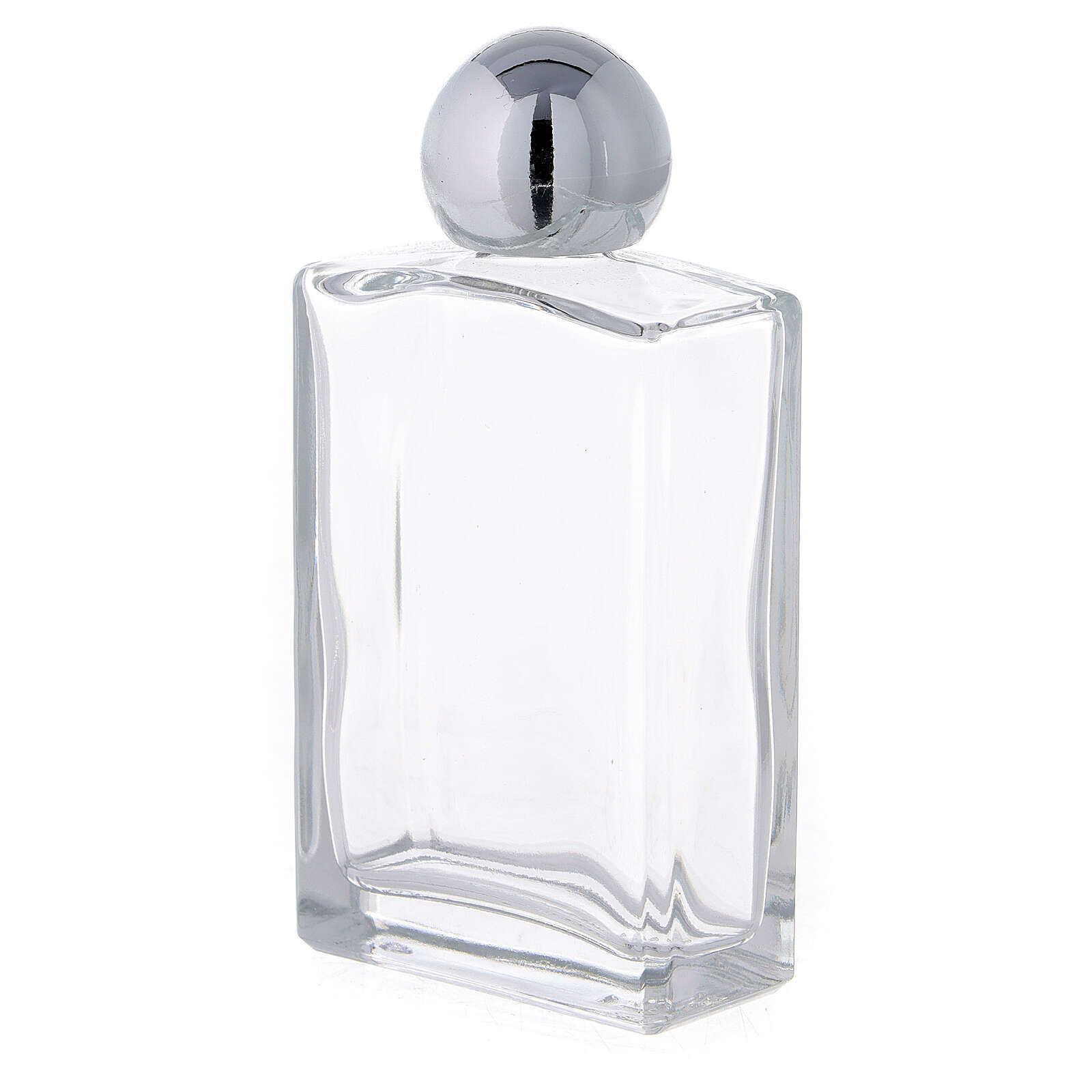 Bouteille rectangulaire pour eau bénite 50 ml verre 25 pcs 3