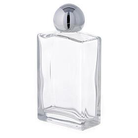 Bouteille rectangulaire pour eau bénite 50 ml verre 25 pcs s2