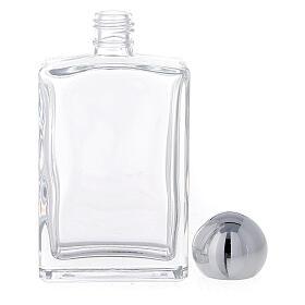 Bouteille rectangulaire pour eau bénite 50 ml verre 25 pcs s3